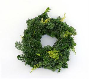 Afbeelding van Coniferen Mix krans 30cm