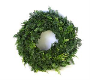 Afbeelding van Coniferen Mix krans 50cm