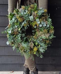 Afbeelding van Herfst & winter krans 40cm